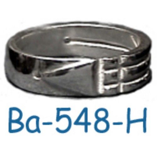 "Ba-548-H Anillo Atlante ""Regular "" ( Plata .925)"