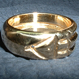 Howard Carter ATLANTIS RING 10K Gold