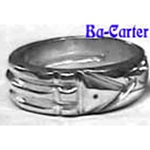 Ba-Carter Anillo Atlante Howard Carter (Pura PLATA .999FS)