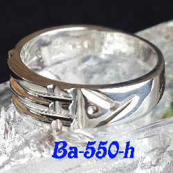 *Ba-550-H Atlantis Ring (Sterling .925)
